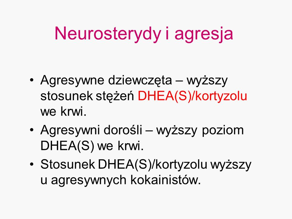 Neurosterydy i agresja