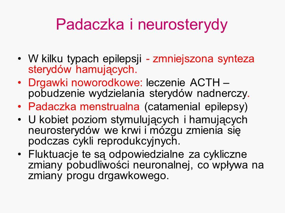 Padaczka i neurosterydy