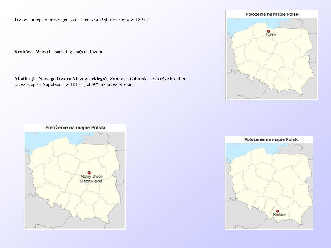 Tczew – miejsce bitwy gen. Jana Henryka Dąbrowskiego w 1807 r.