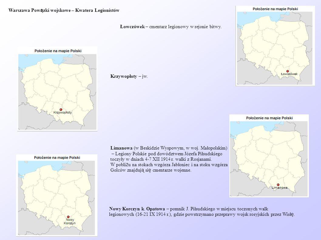 Warszawa Powązki wojskowe – Kwatera Legionistów