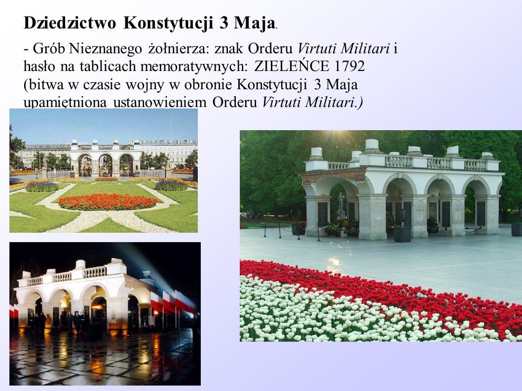 Dziedzictwo Konstytucji 3 Maja.