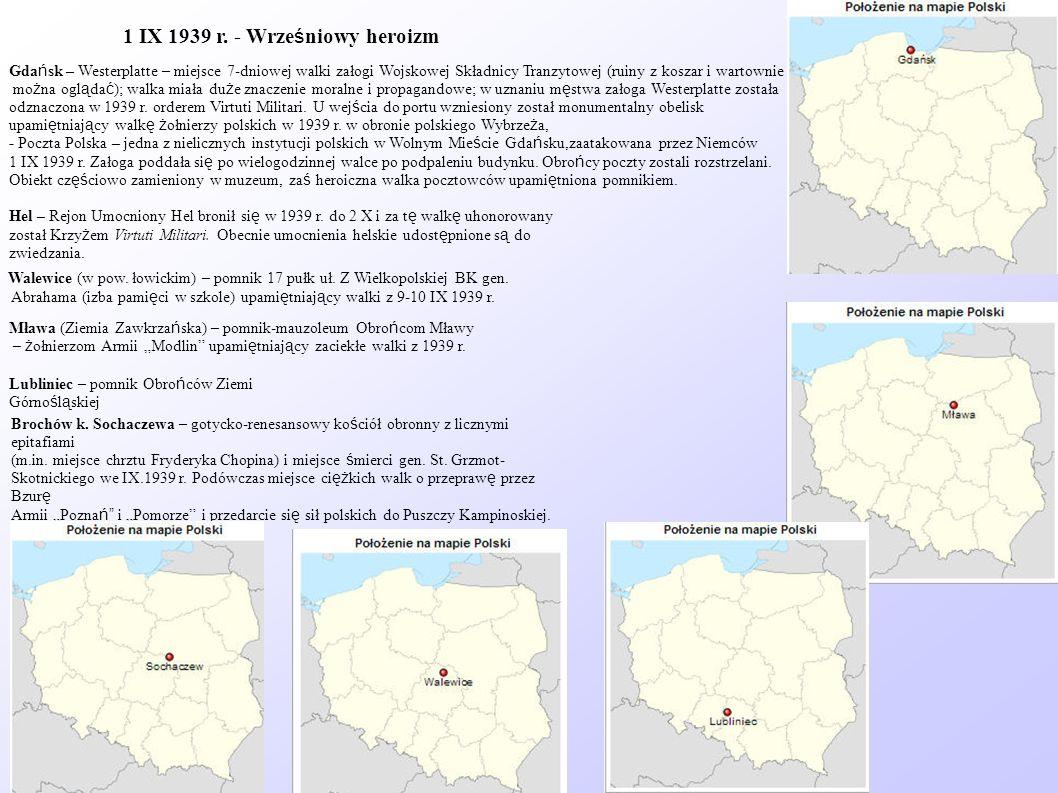 1 IX 1939 r. - Wrześniowy heroizm