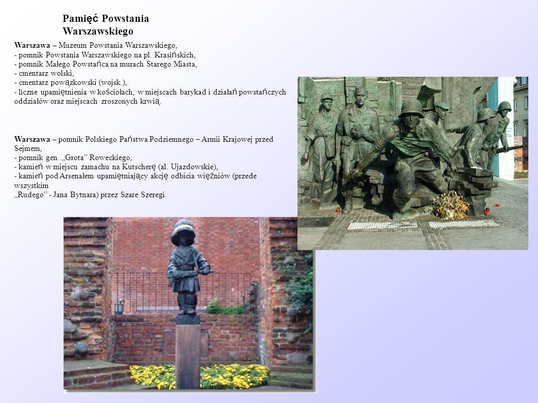 Pamięć Powstania Warszawskiego
