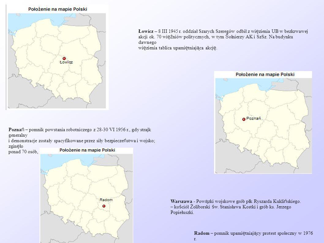 Łowicz – 8 III 1945 r. oddział Szarych Szeregów odbił z więzienia UB w bezkrwawej