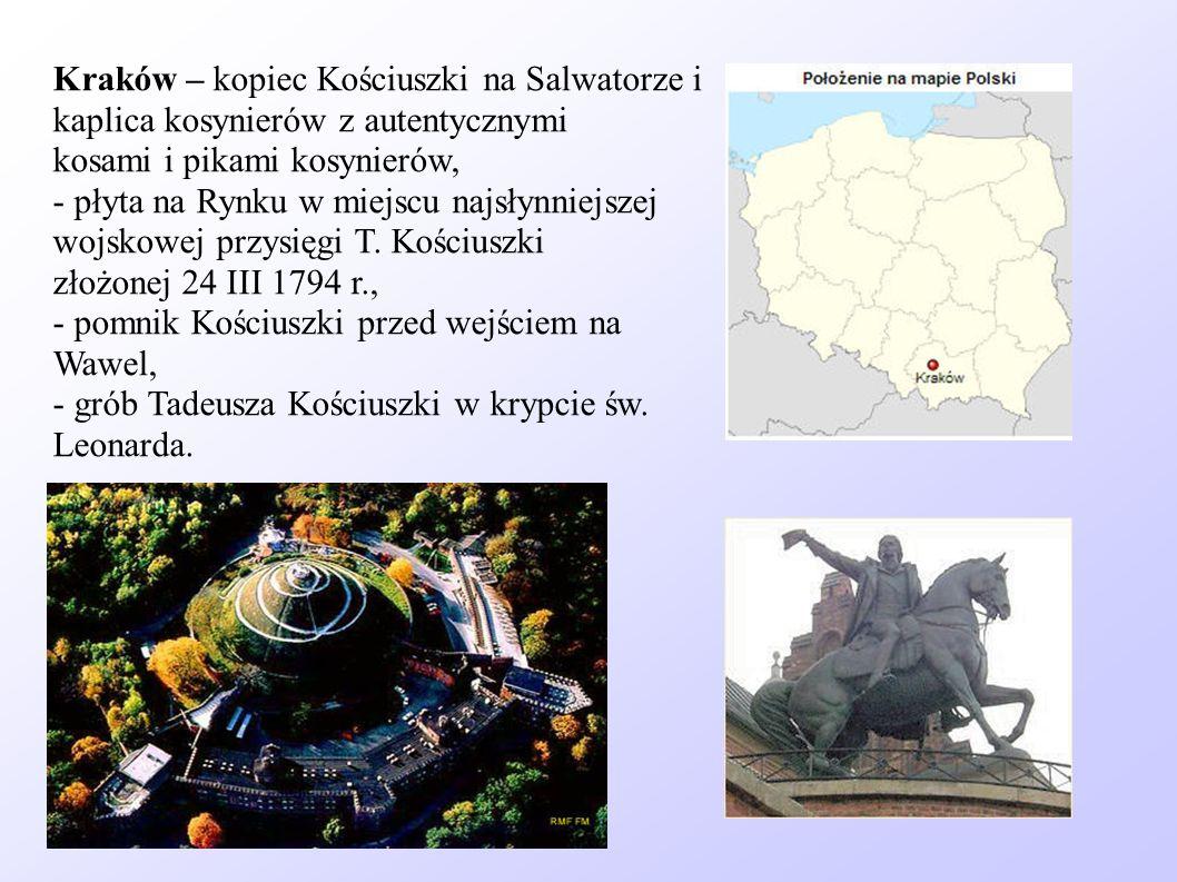Kraków – kopiec Kościuszki na Salwatorze i kaplica kosynierów z autentycznymi