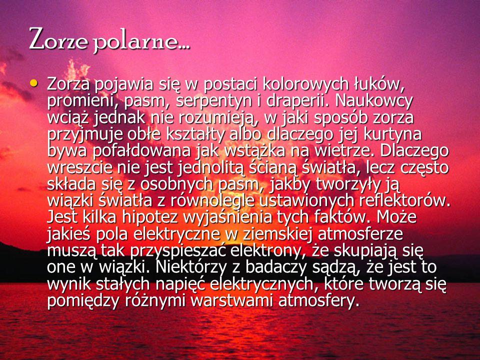 Zorze polarne…