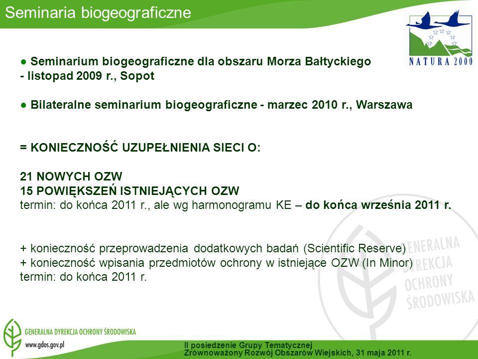 Seminaria biogeograficzne