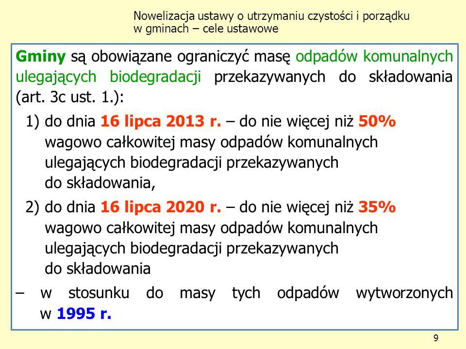 1) do dnia 16 lipca 2013 r. – do nie więcej niż 50%