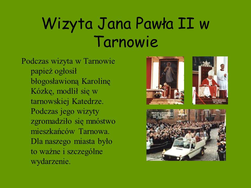 Wizyta Jana Pawła II w Tarnowie