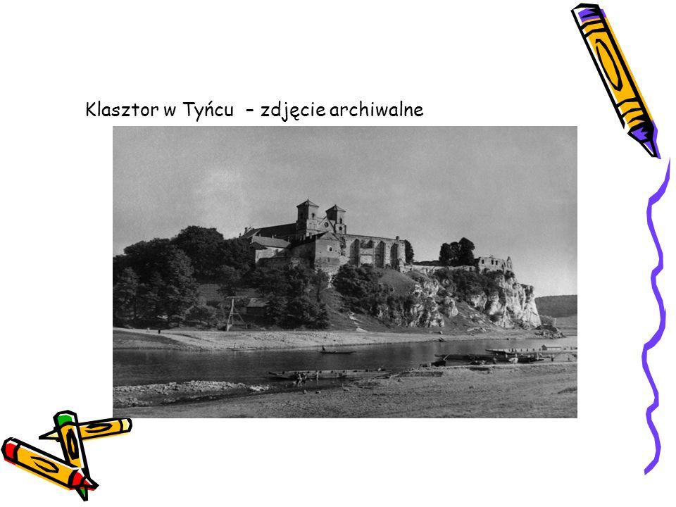 Klasztor w Tyńcu – zdjęcie archiwalne
