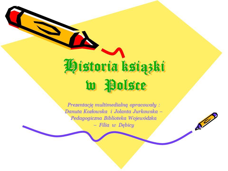 Historia ksiązki w Polsce