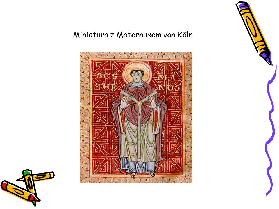 Miniatura z Maternusem von Köln