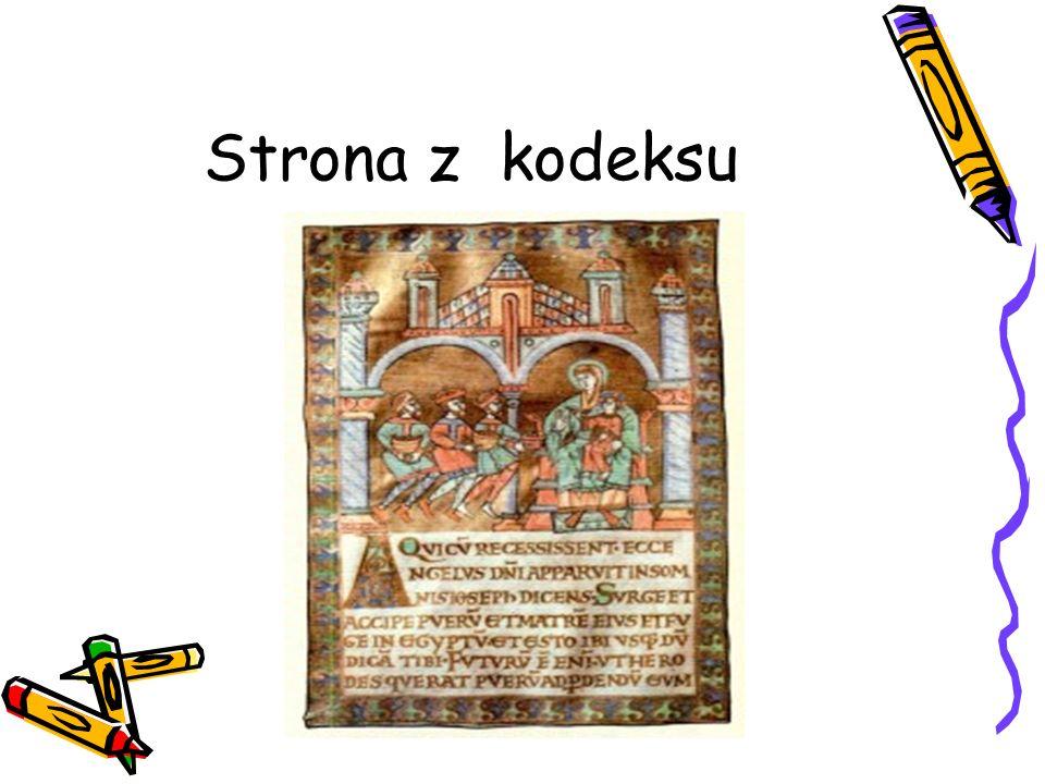 Strona z kodeksu