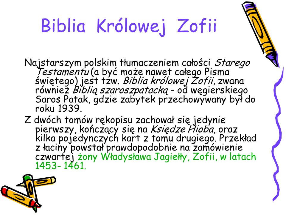 Biblia Królowej Zofii