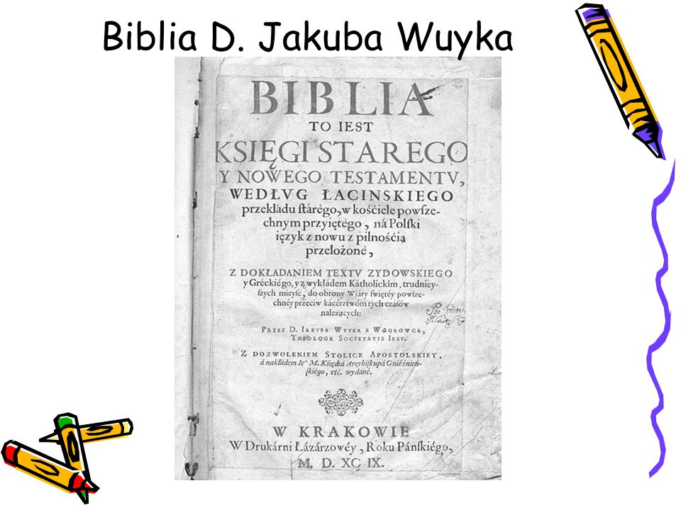 Biblia D. Jakuba Wuyka
