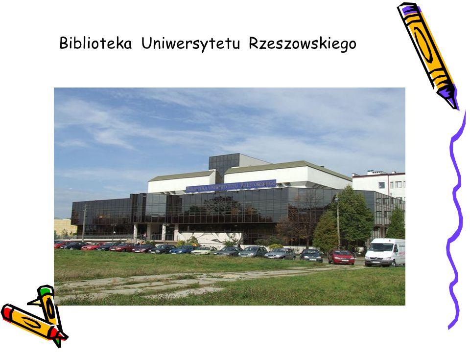 Biblioteka Uniwersytetu Rzeszowskiego