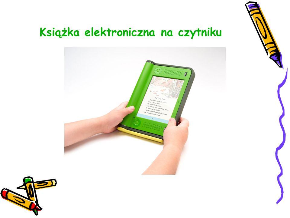 Książka elektroniczna na czytniku