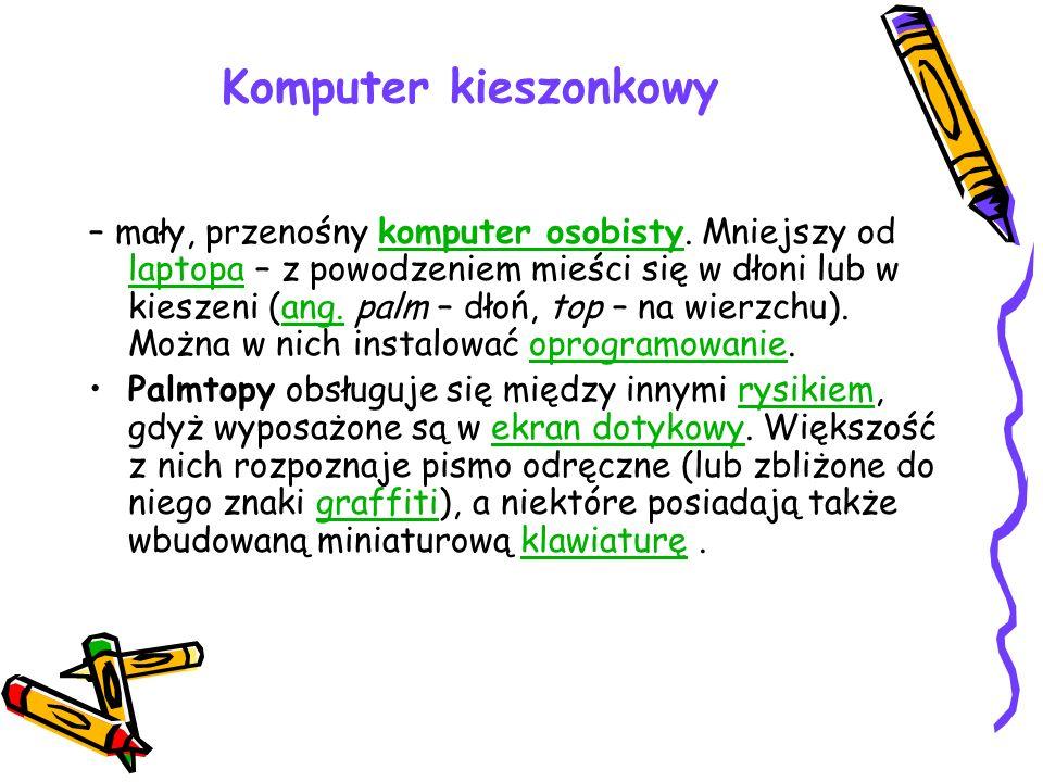 Komputer kieszonkowy
