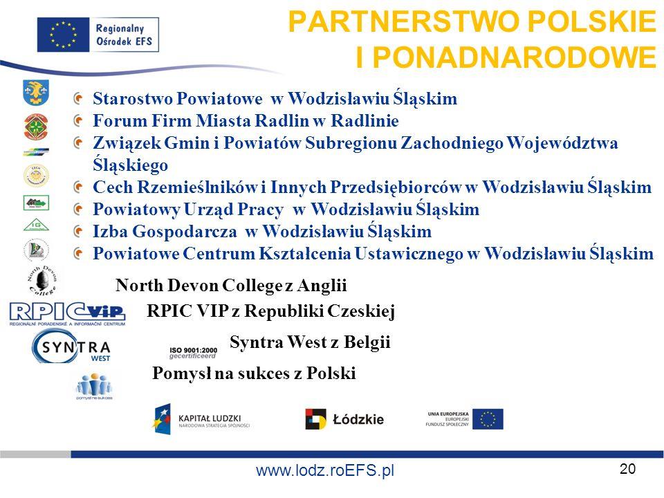 PARTNERSTWO POLSKIE I PONADNARODOWE