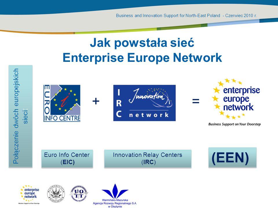 Jak powstała sieć Enterprise Europe Network