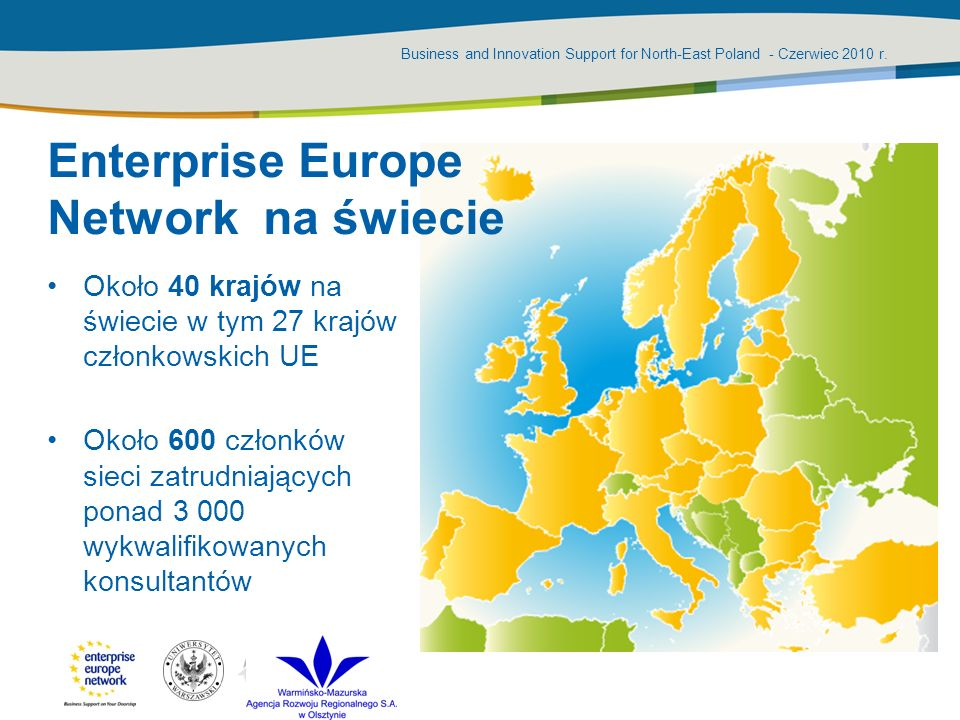Enterprise Europe Network na świecie