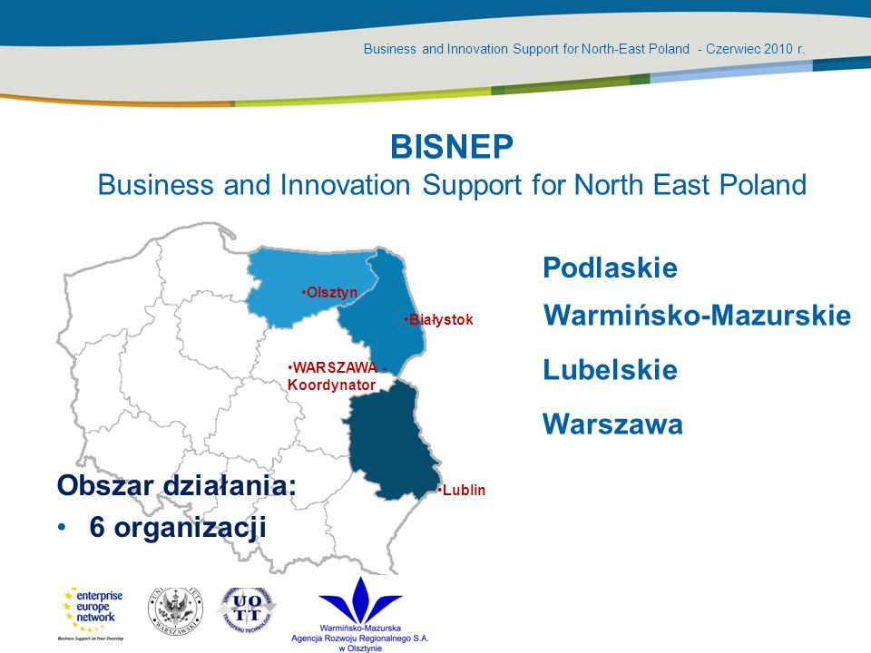 BISNEP Business and Innovation Support for North East Poland