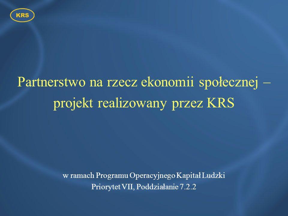 Partnerstwo na rzecz ekonomii społecznej –