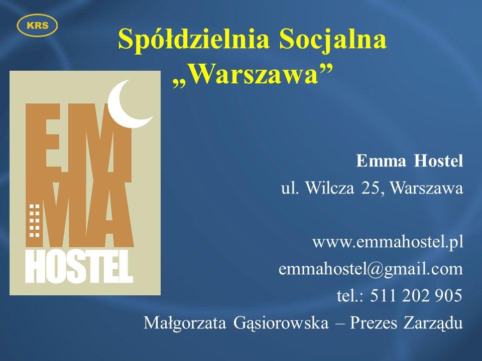 """Spółdzielnia Socjalna """"Warszawa"""