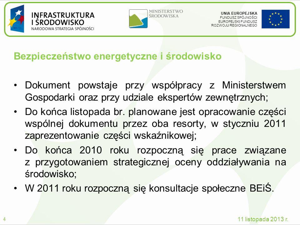 Bezpieczeństwo energetyczne i środowisko