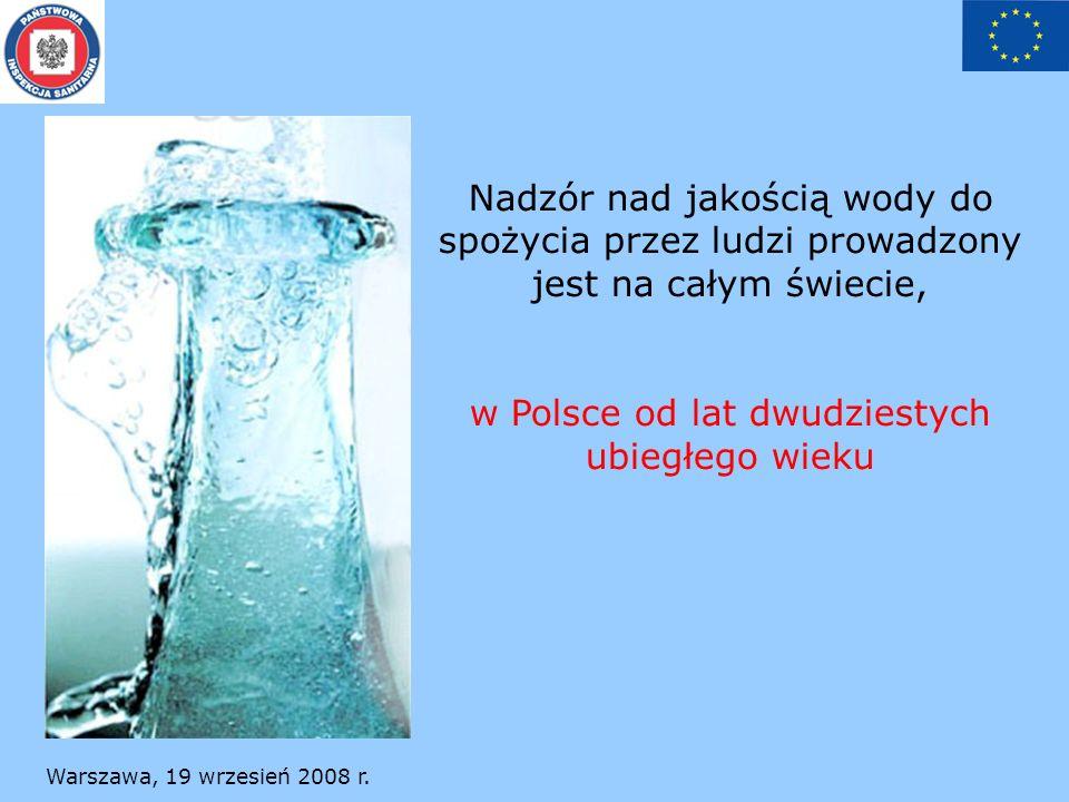 w Polsce od lat dwudziestych ubiegłego wieku