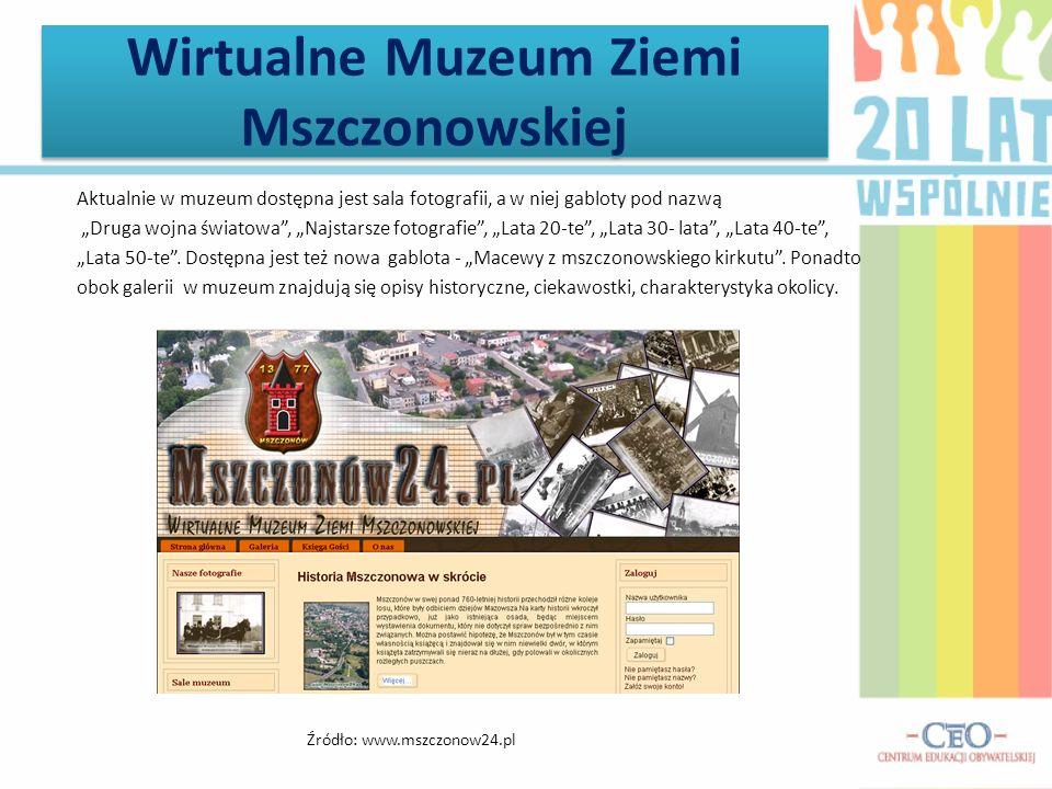 Wirtualne Muzeum Ziemi Mszczonowskiej