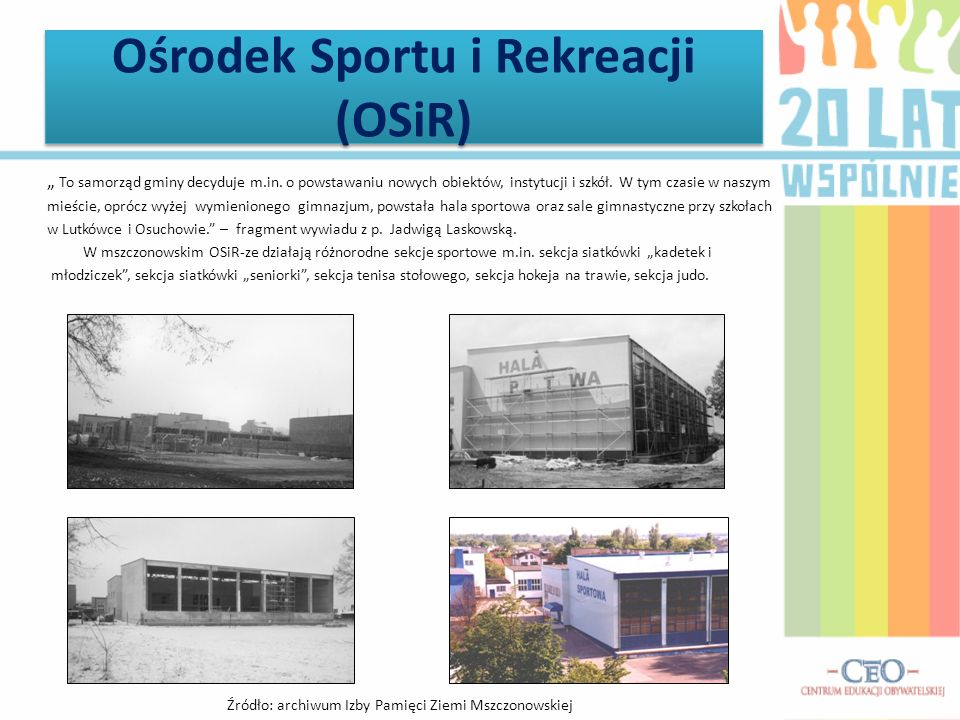 Ośrodek Sportu i Rekreacji (OSiR)