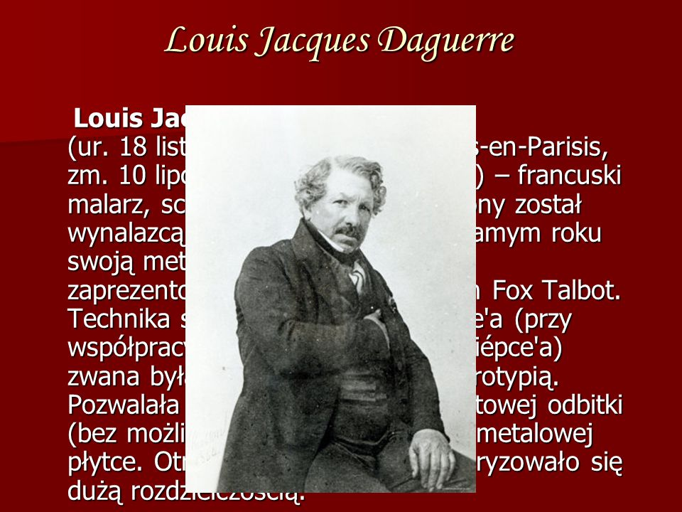 Louis Jacques Daguerre