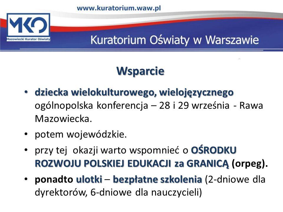 Wsparcie dziecka wielokulturowego, wielojęzycznego ogólnopolska konferencja – 28 i 29 września - Rawa Mazowiecka.