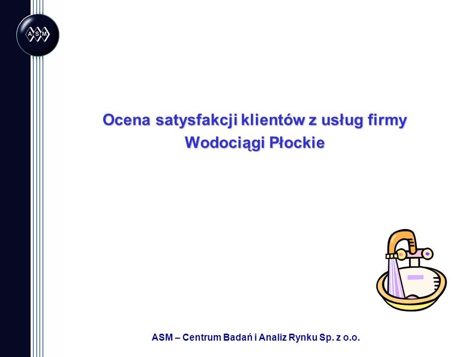 Ocena satysfakcji klientów z usług firmy Wodociągi Płockie