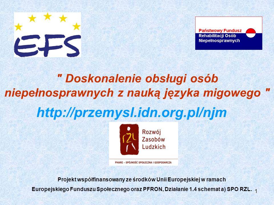 Doskonalenie obsługi osób niepełnosprawnych z nauką języka migowego