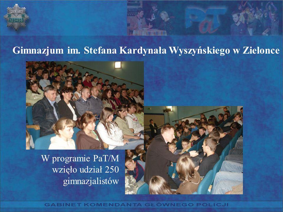 Gimnazjum im. Stefana Kardynała Wyszyńskiego w Zielonce