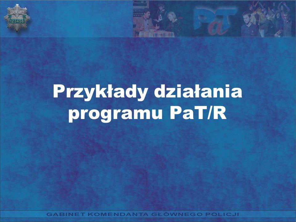 Przykłady działania programu PaT/R