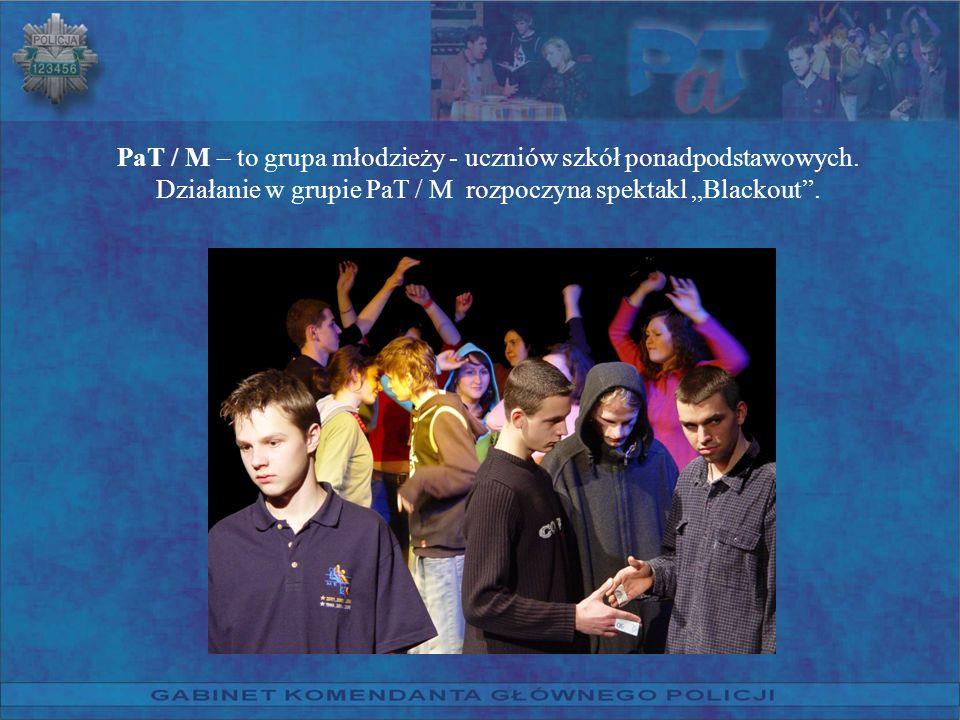 PaT / M – to grupa młodzieży - uczniów szkół ponadpodstawowych