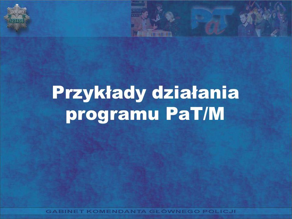 Przykłady działania programu PaT/M
