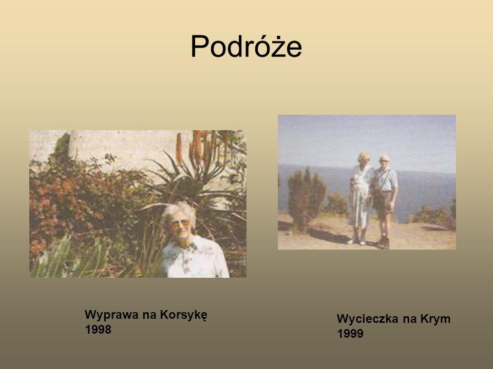 Podróże Wyprawa na Korsykę 1998 Wycieczka na Krym 1999