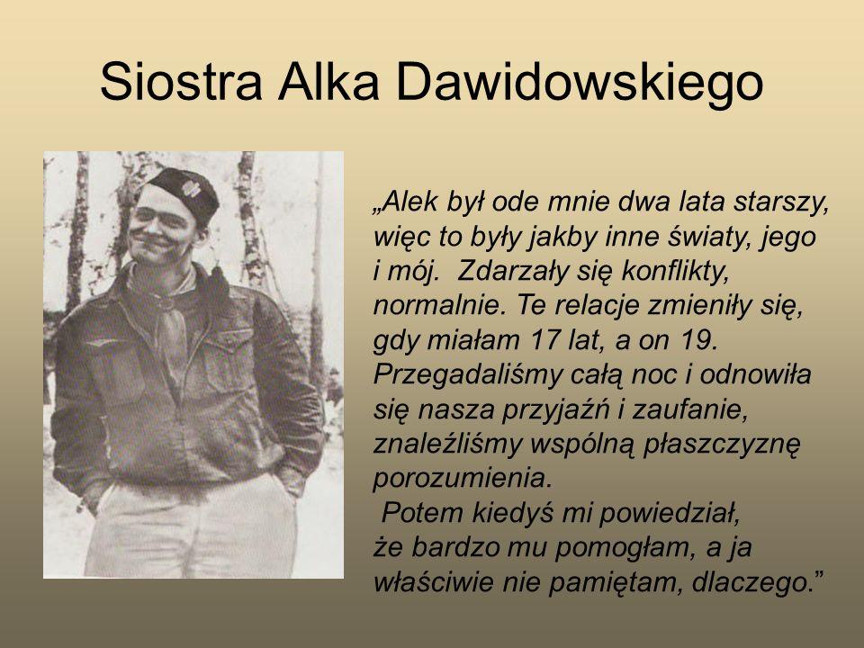 Siostra Alka Dawidowskiego