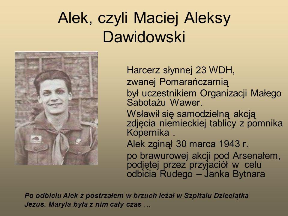 Alek, czyli Maciej Aleksy Dawidowski