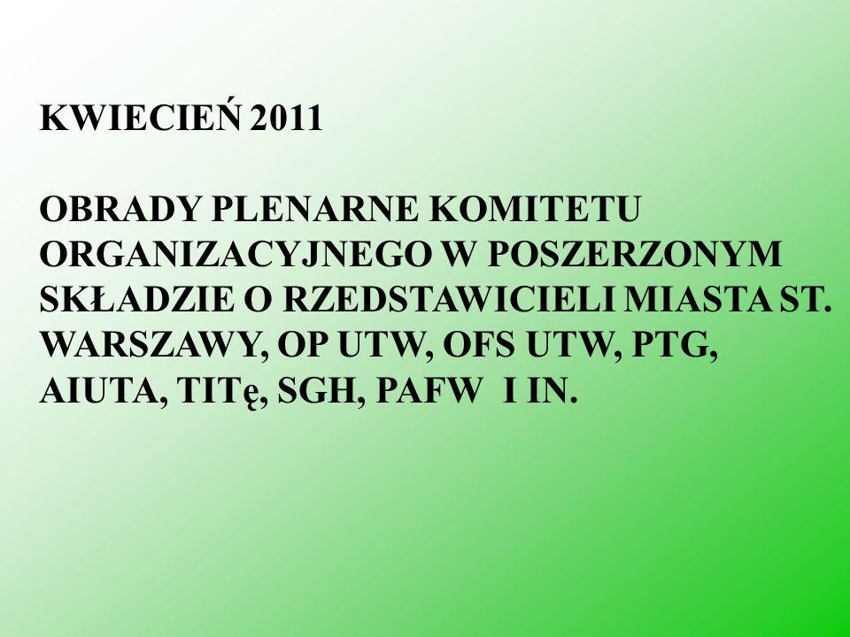 KWIECIEŃ 2011