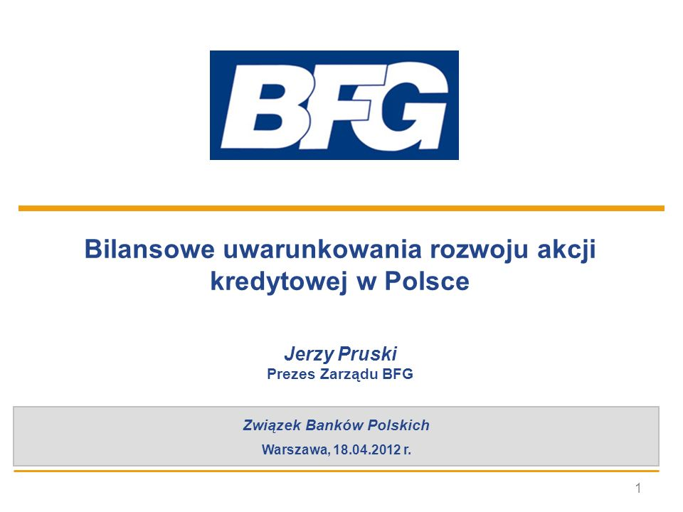 Bilansowe uwarunkowania rozwoju akcji kredytowej w Polsce