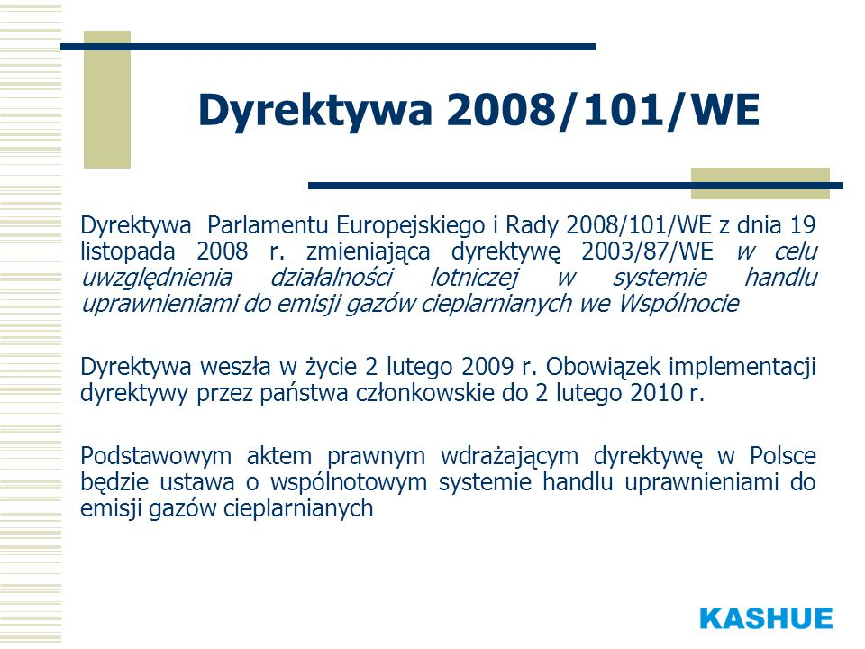Dyrektywa 2008/101/WE