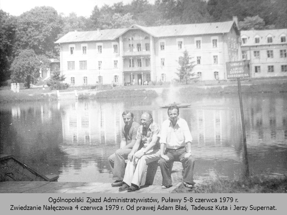 Ogólnopolski Zjazd Administratywistów, Puławy 5-8 czerwca 1979 r
