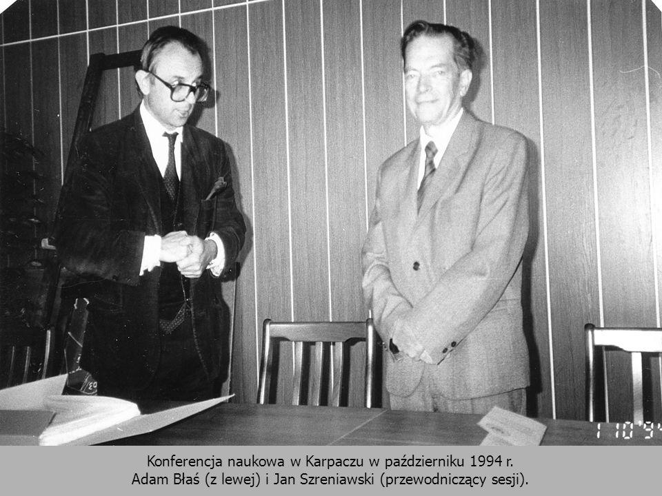 Konferencja naukowa w Karpaczu w październiku 1994 r.