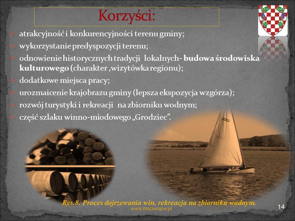 atrakcyjność i konkurencyjności terenu gminy;