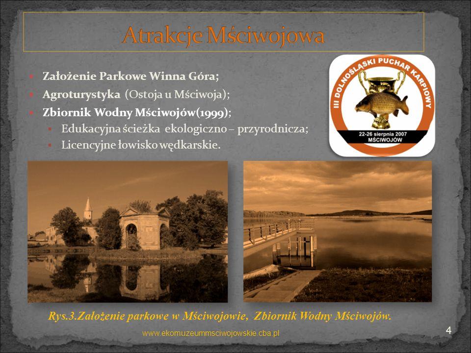 Założenie Parkowe Winna Góra; Agroturystyka (Ostoja u Mściwoja);